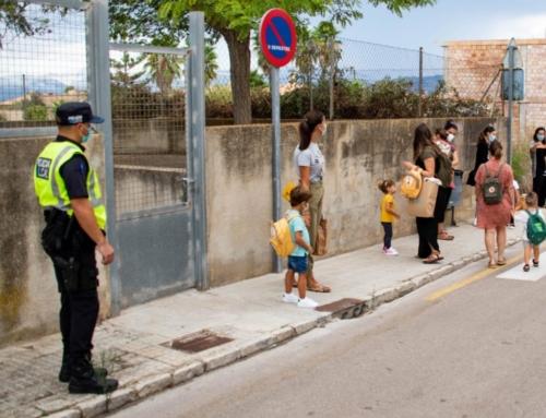 Marratxí crea la figura del policia local especialitzat en donar suport als centres escolars davant la pandèmia de la Covid-19