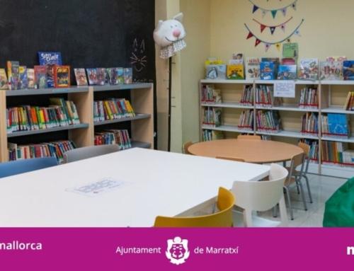 L'Ajuntament de Marratxí renova per complet el mobiliari de la Biblioteca de Pòrtol