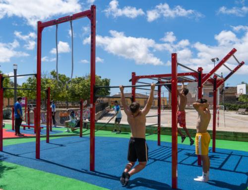 Obre al públic el nou parc de cal·listènia d'Es Campet, a Sa Cabaneta
