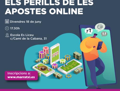 L'Ajuntament promou una xerrada sobre els perills de les apostes online per a les famílies del municipi