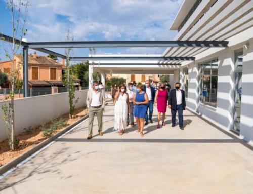 El Govern inaugura el curso escolar 2021-2022 en el renovado CEIP Ses Cases Noves de Marratxí